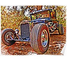 31 Ford Rat Rod Pick-Up Poster