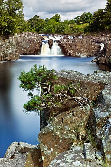 The River Tees at Low Force by mountainsandsky