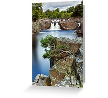 The River Tees at Low Force Greeting Card
