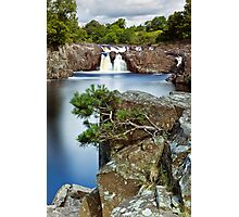 The River Tees at Low Force Photographic Print