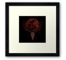 The Elder Scrolls - Hircine Blood Moon Framed Print