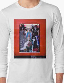La Catrina Viaja en Metro CDMX INTL Long Sleeve T-Shirt