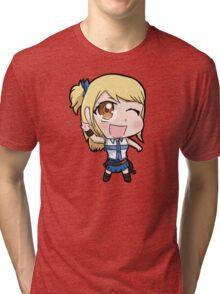 Lucy chibi Tri-blend T-Shirt
