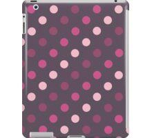 Pink and Purple Polka Dots iPad Case/Skin