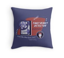 Timey Wimey Machine - Doctor Approved! Throw Pillow