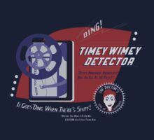 Timey Wimey Machine - Doctor Approved! by cakeyhamburger