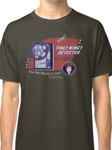 Timey Wimey Machine - Doctor Approved! Classic T-Shirt