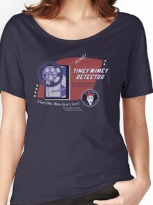 Timey Wimey Machine - Doctor Approved! Women's Relaxed Fit T-Shirt