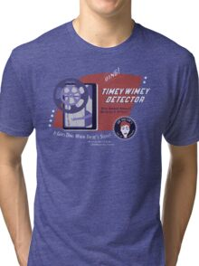 Timey Wimey Machine - Doctor Approved! Tri-blend T-Shirt