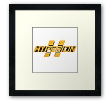 Borderlands Hyperion Framed Print
