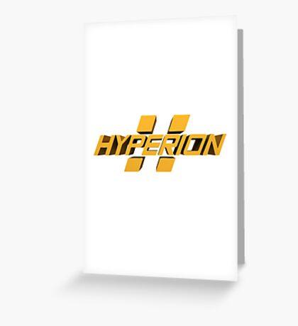 Borderlands Hyperion Greeting Card