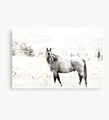 Call of the Wild - Version 2 Metal Print