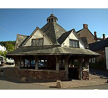 Dunster Yarn Market Photographic Print