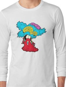 American Zombie Living Dead Squirrel Long Sleeve T-Shirt
