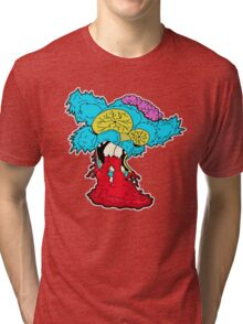 American Zombie Living Dead Squirrel Tri-blend T-Shirt