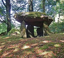 Gwal y Filiast chambered tomb by ImagoMoth