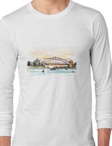 SYDNEY BRIDGE Long Sleeve T-Shirt