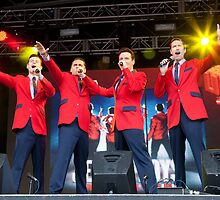 The Cast Of Jersey Boys (London) by stageshoot