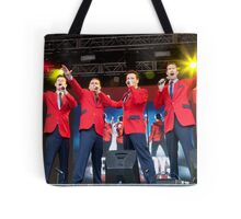 The Cast Of Jersey Boys (London) Tote Bag