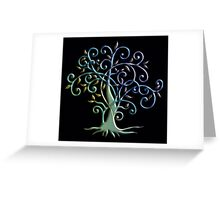 3D Tree of Life Greeting Card