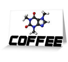 Chemistry - Coffee Greeting Card