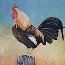 Morning Rooster by Charlotte Yealey