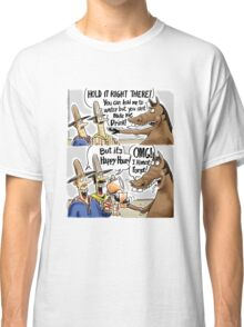 Happy Hour Horse - A Western Hero Classic T-Shirt