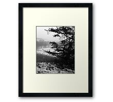 WV Winter Landscape Framed Print