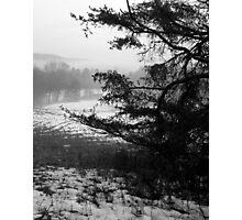 WV Winter Landscape Photographic Print