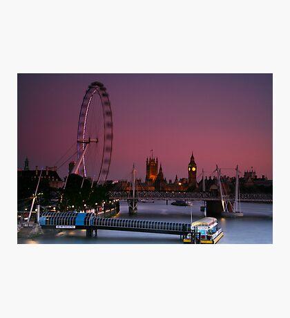 """London's Lights"" Photographic Print"