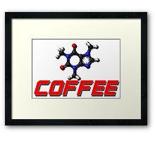 Chemistry -  Red Coffee Framed Print