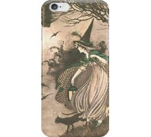 Grimm's fairy-tale witch iPhone Case/Skin