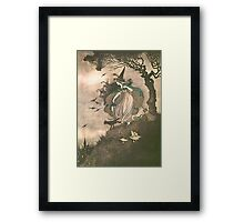 Grimm's fairy-tale witch Framed Print