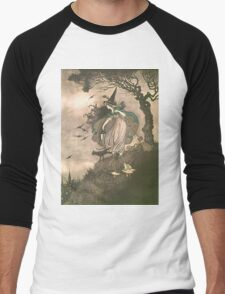 Grimm's fairy-tale witch Men's Baseball ¾ T-Shirt