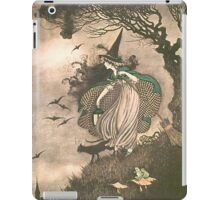 Grimm's fairy-tale witch iPad Case/Skin
