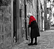 Young at Heart-Bolsena, Italy by Deborah Downes