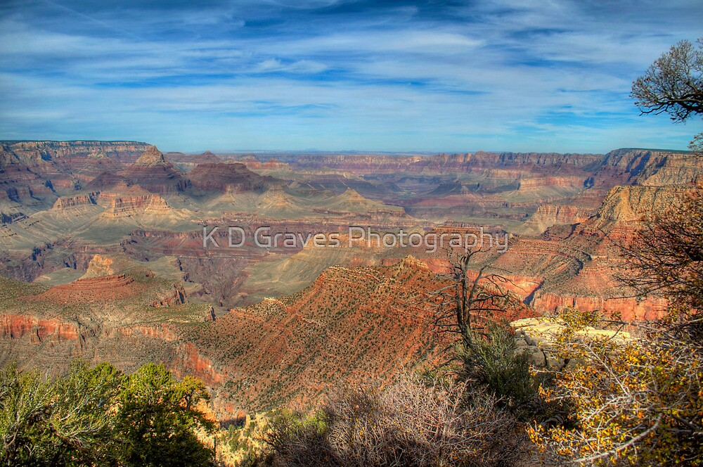 Canyon Colors by K D Graves Photography