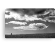 Walking up that hill Canvas Print