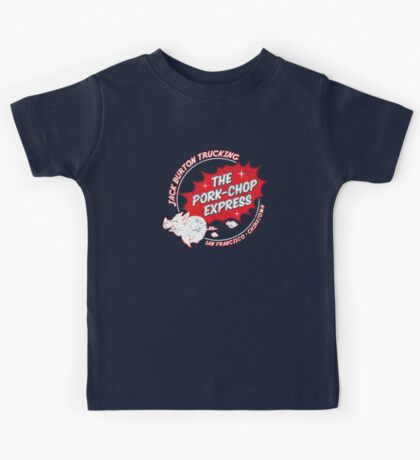 Jack Burton Trucking Pork Chop Express Kids Tee