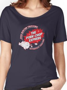 Jack Burton Trucking Pork Chop Express Women's Relaxed Fit T-Shirt