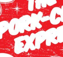 Jack Burton Trucking Pork Chop Express Sticker
