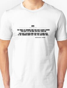 Grateful Dead Lyric - The Wheel T-Shirt