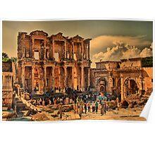 Turkey. Ancient Ephesus.  Poster