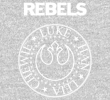 I Wanna Be a Rebel Baby Tee