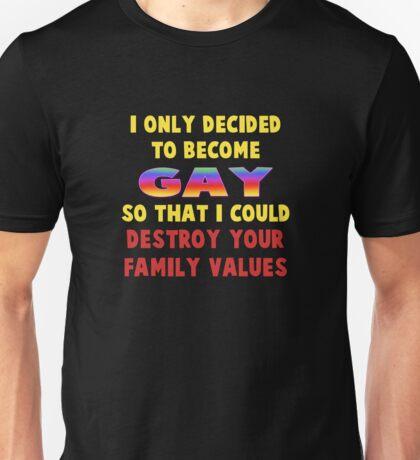Family Values Unisex T-Shirt