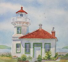 Mukilteo Lighthouse by Bobbi Price