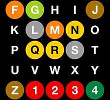 NYC Subway #2 by byebyesally