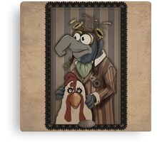 Steampunk Gonzo Canvas Print
