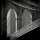 Brooklyn Bridge by Laurent Hunziker
