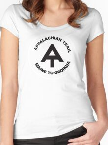 Appalachian Trail- Maine to Georgia Women's Fitted Scoop T-Shirt